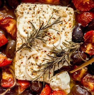 baked feta cheese recipe