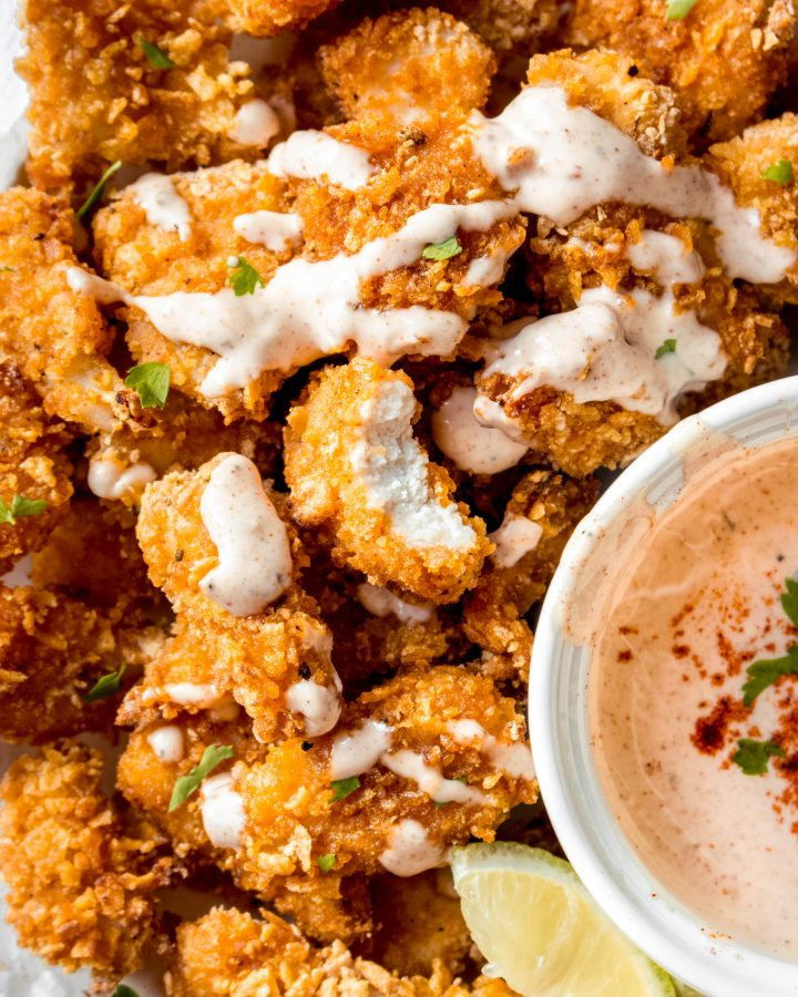 Best Baked Popcorn Chicken Recipe
