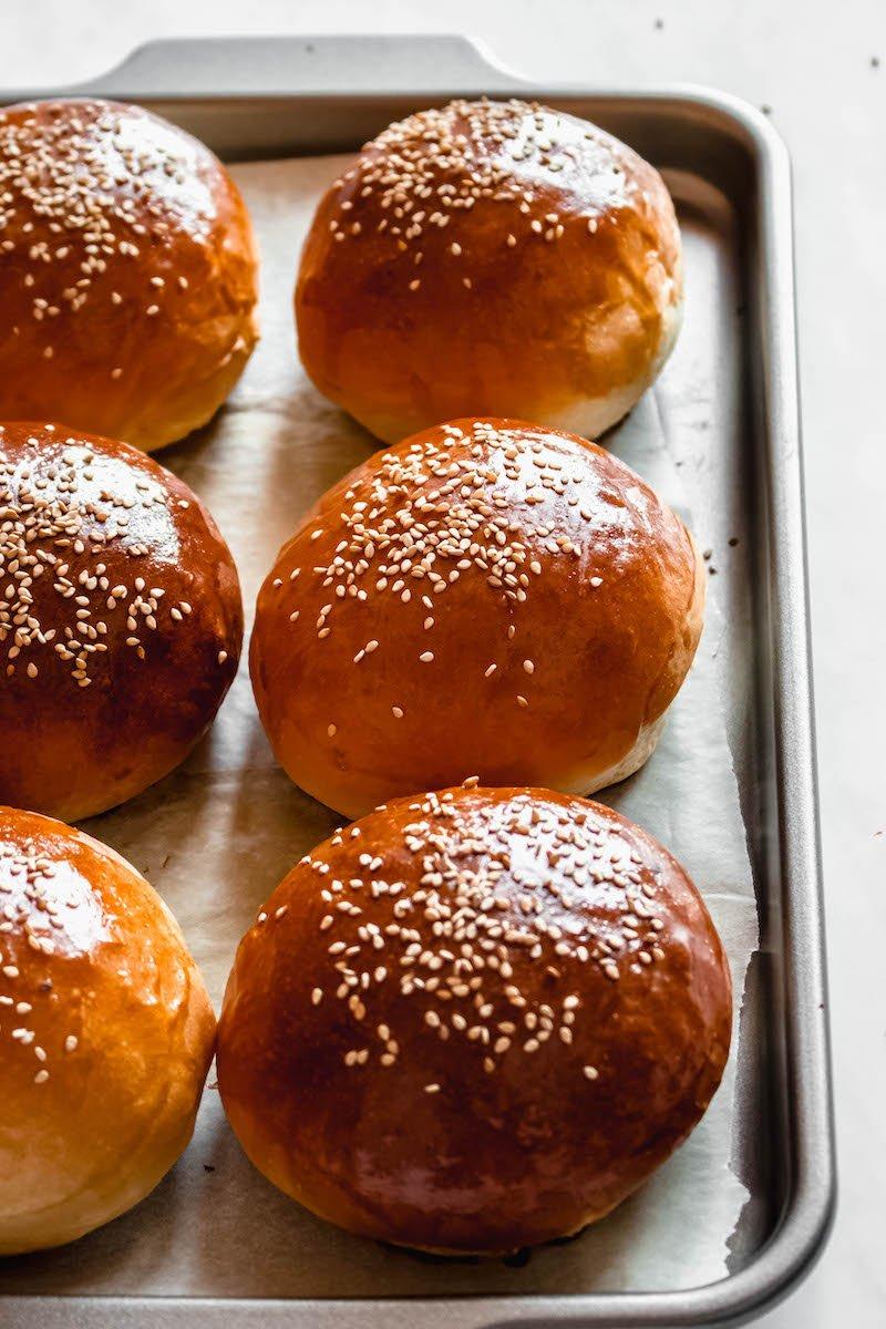 how to make hamburger buns at home