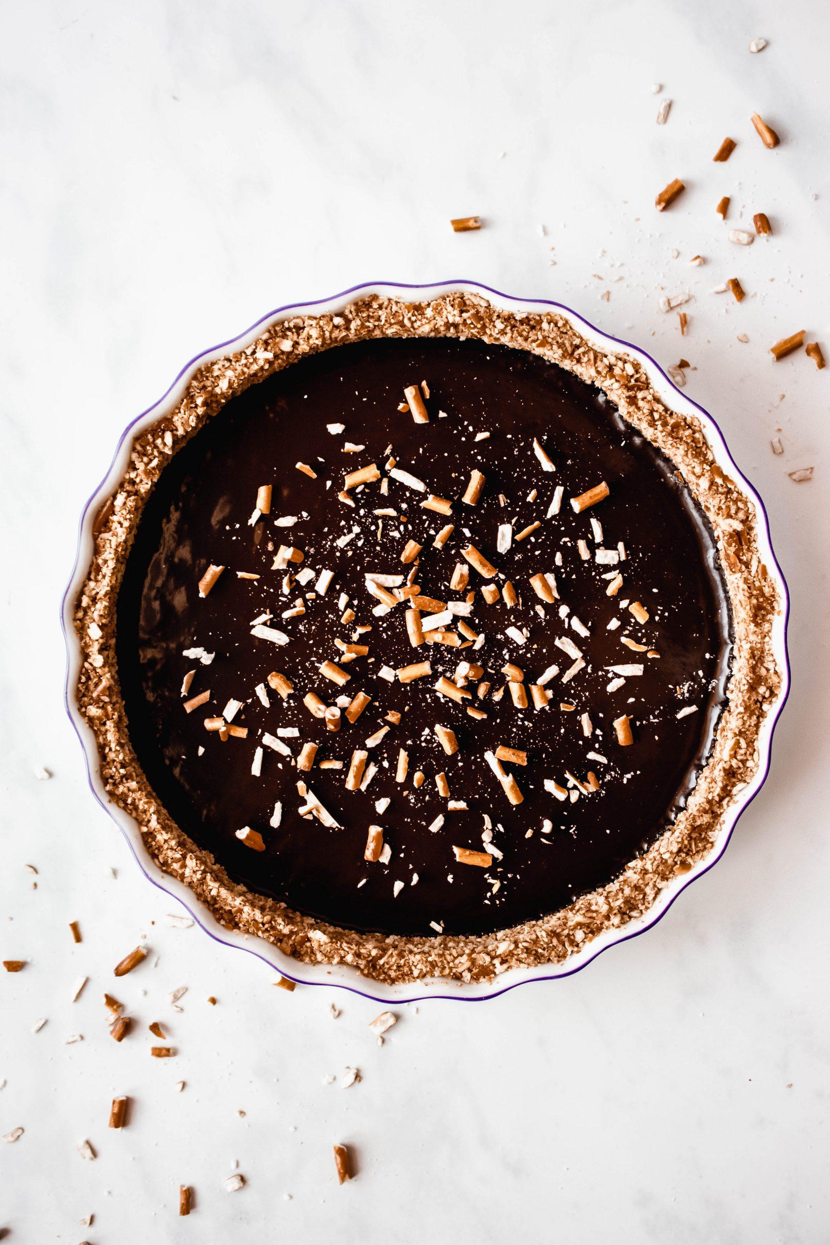 Chocolate Pretzel Tart Recipe