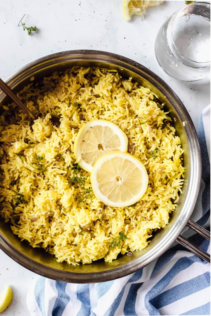Greek Lemon Pilaf Recipe