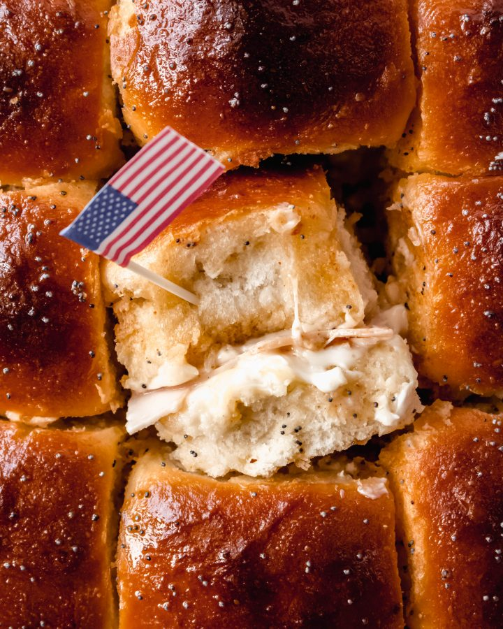 cheesy Turkey sliders recipe