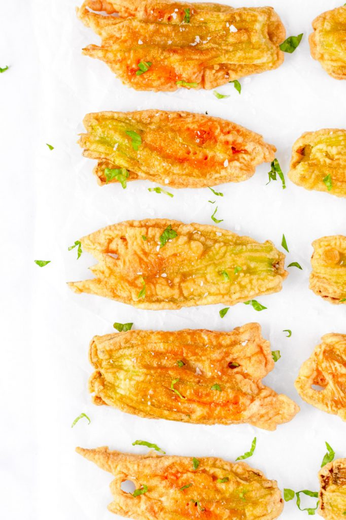 italian fried zucchini blossoms recipe