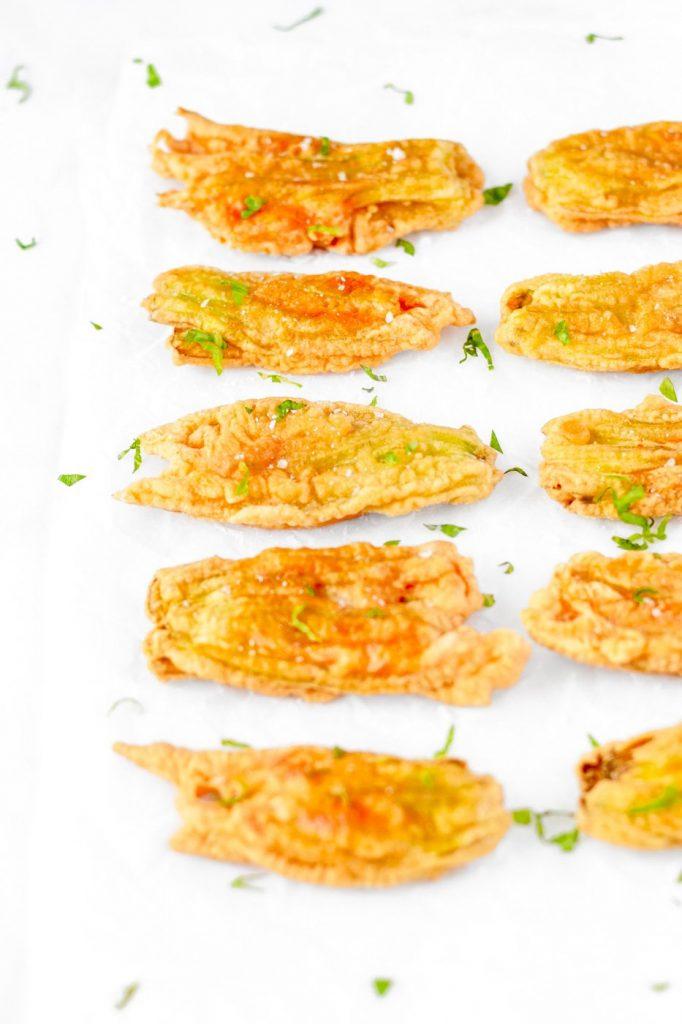 italian fried zucchini flowers recipe
