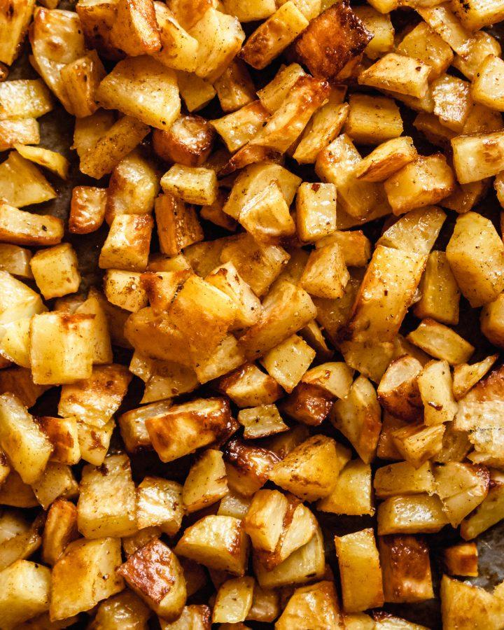 spicy lebanese potatoes recipe
