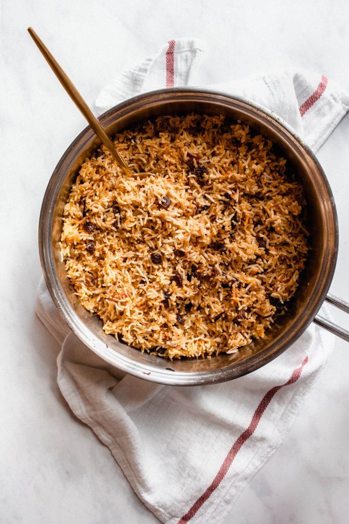 easy somali rice recipe