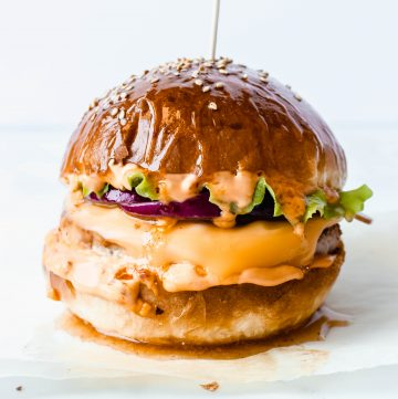 The Best Juicy Cheeseburger With Turkey