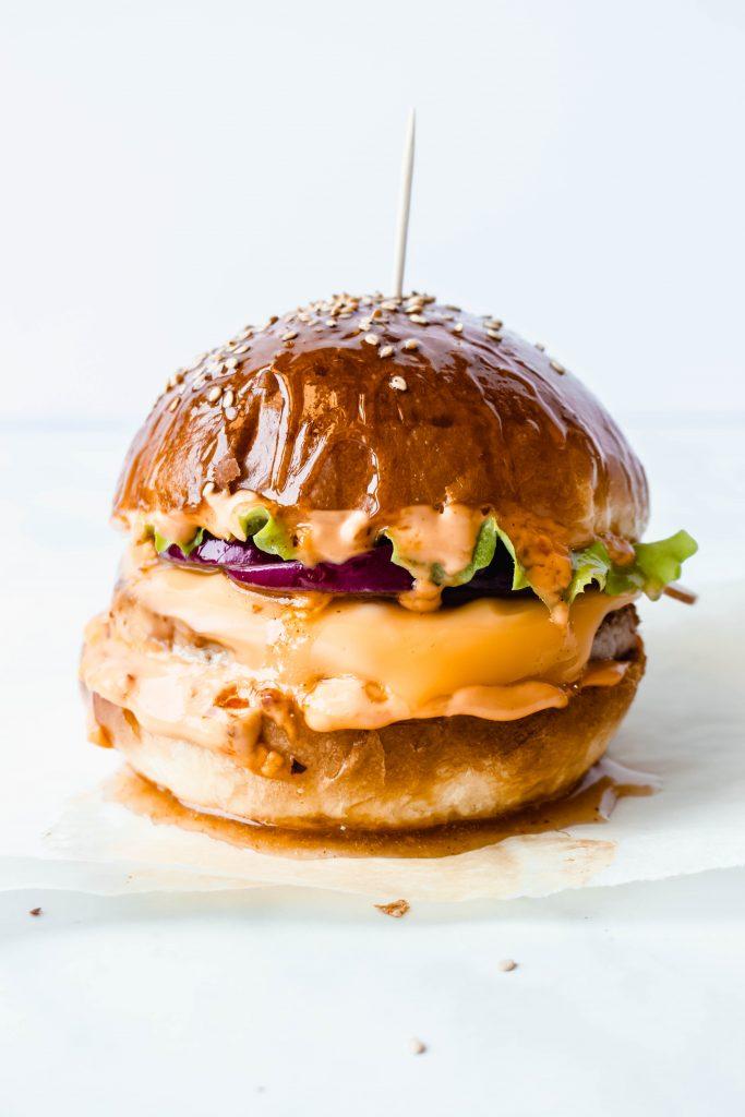 Juicy Turkey Cheeseburger Recipe