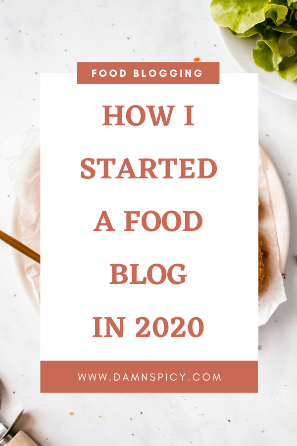 How To Start A Food Blog Guide