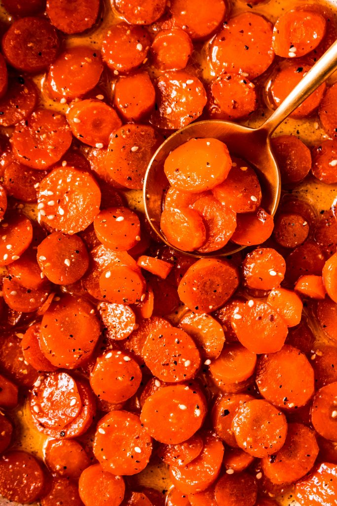 Stovetop Honey Glazed Carrots Recipe