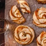 Savory Pumpkin Twists With Puff Pastry, the perfect pumpkin appetizers for your Thanksgiving dinner or Holiday party! | damnspicy.com