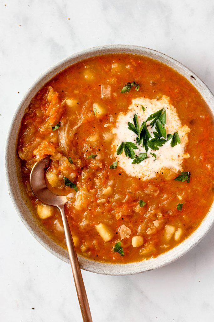 Russian Shchi Soup Recipe