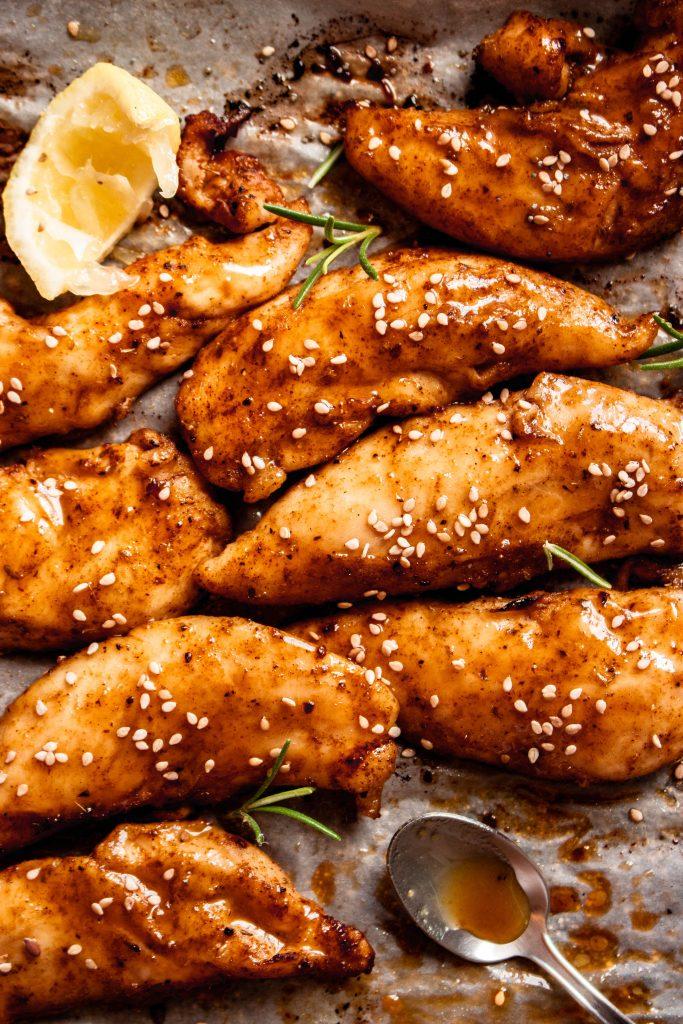 Oven Baked Honey Dijon Chicken