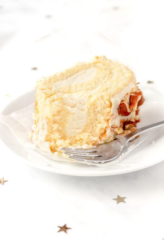 Honey Vanilla Swiss Roll Recipe