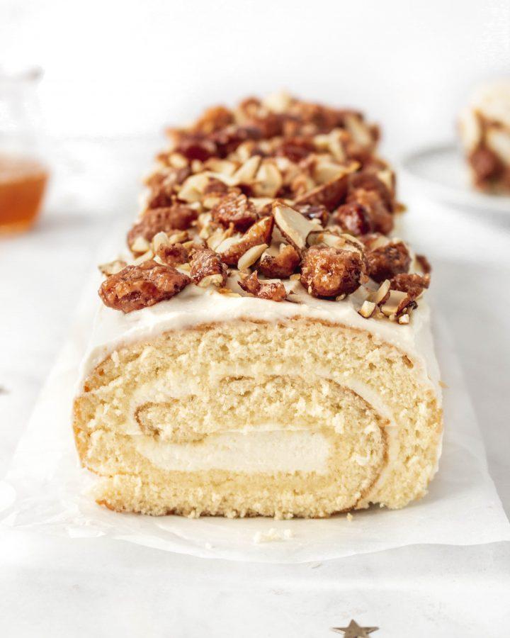 Honey Vanilla Cake Roll Recipe