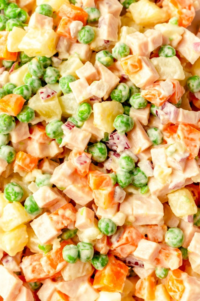 russian olivier salad recipe