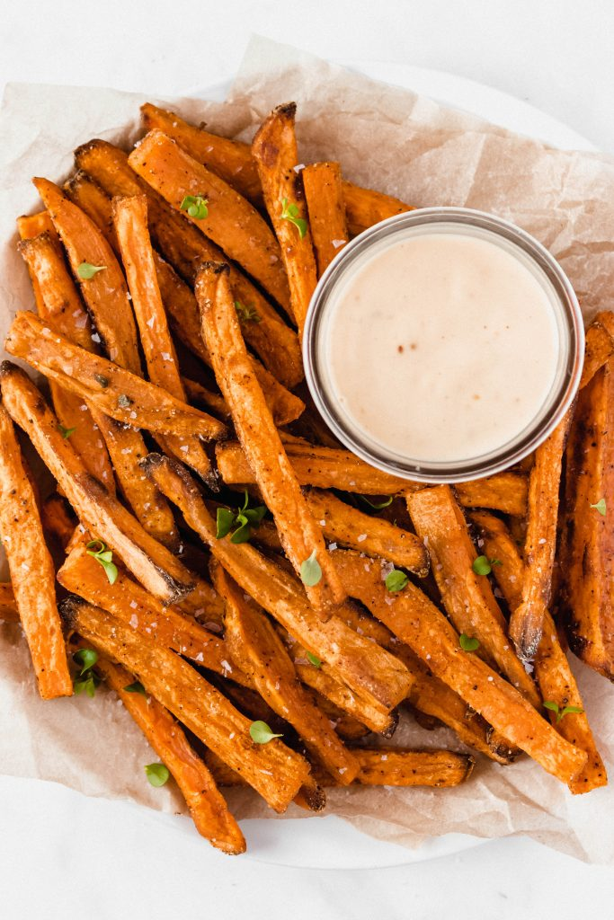 How to make perfect sweet potato fries