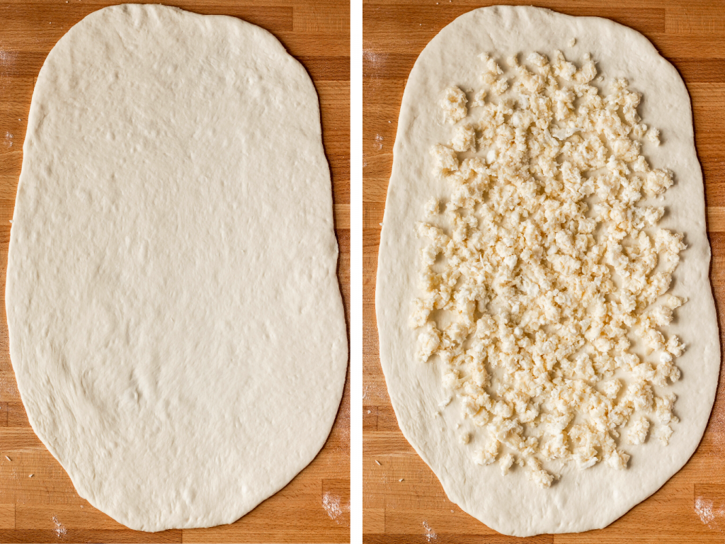how to fold khachapuri