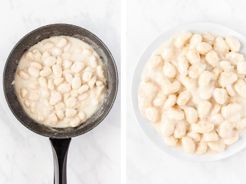 how to make gorgonzola gnocchi