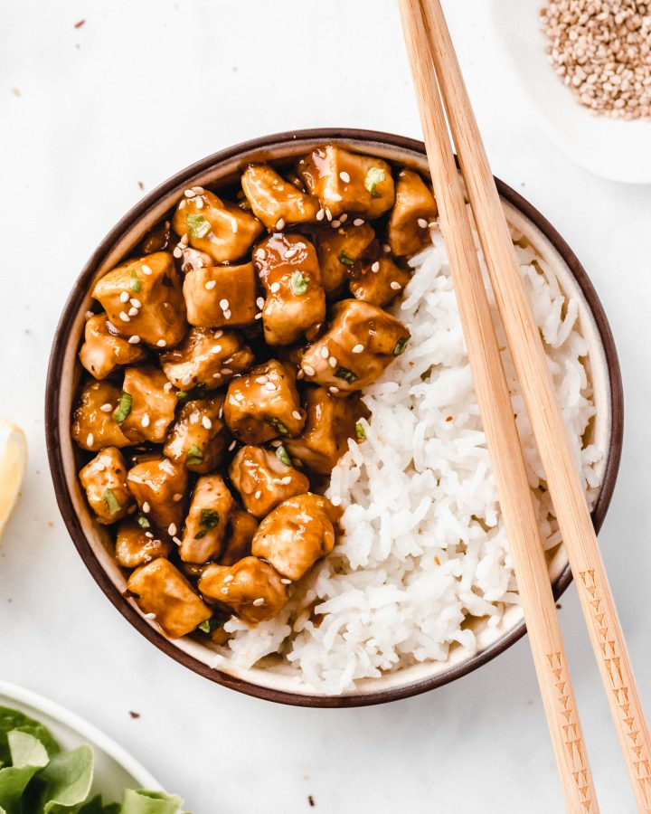 Teriyaki Tofu Rice Bowl