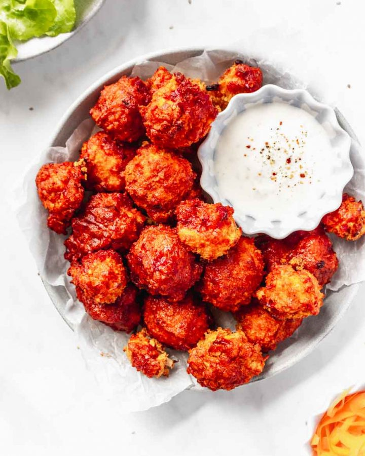 crispy buffalo cauliflower wings recipe