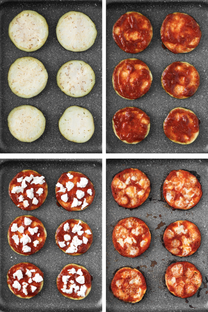 how to make eggplant pizzas