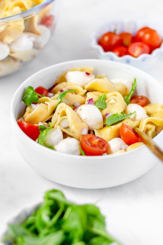how to make cold tortellini salad recipe
