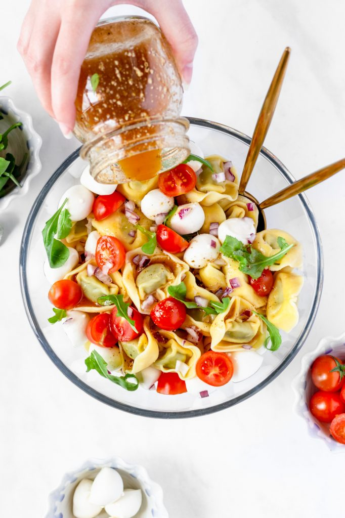 summer tortellini salad
