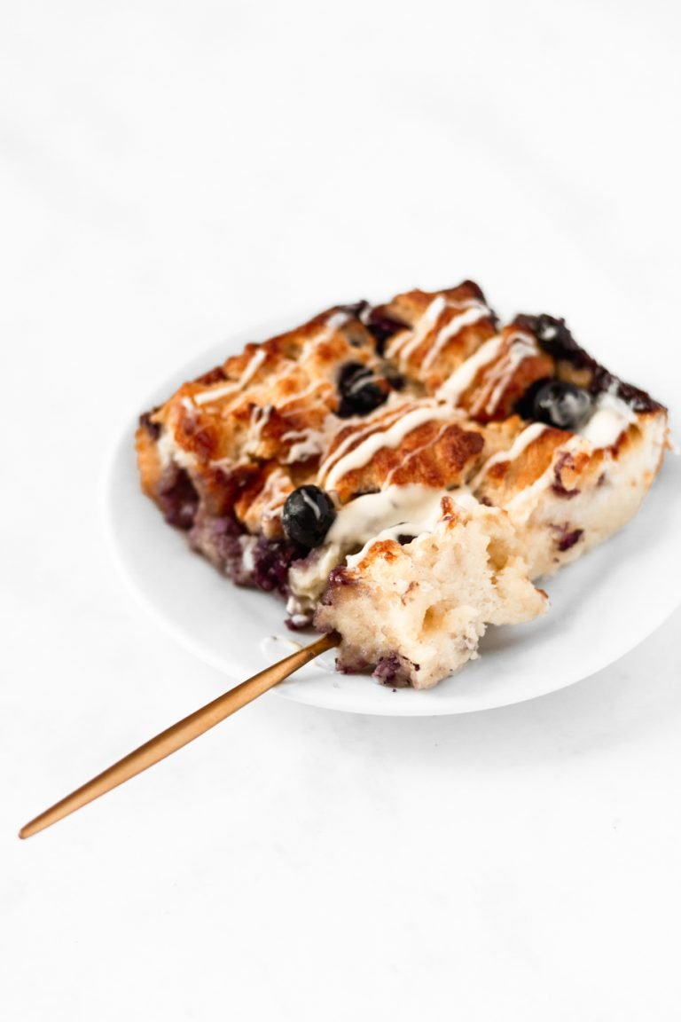 white chocolate blueberry bread pudding recipe best