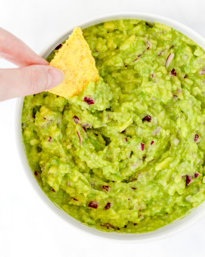 4 ingredient guacamole recipe