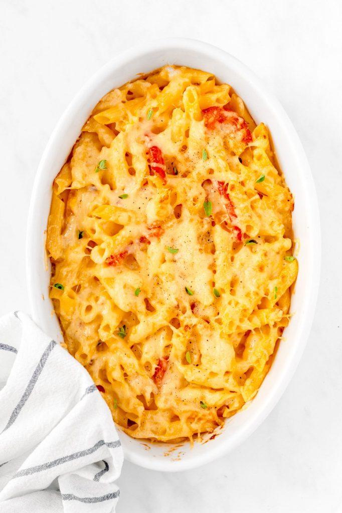 Haitian mac and cheese