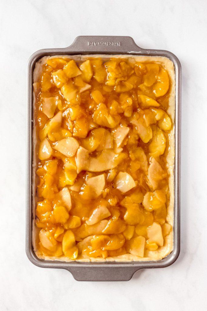 how to make apple slab pie