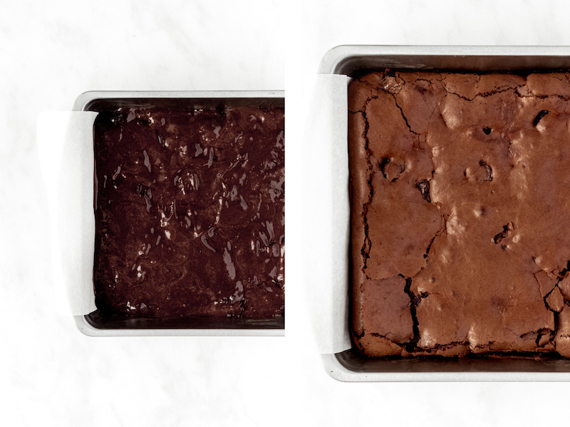 how to make cherry brownies