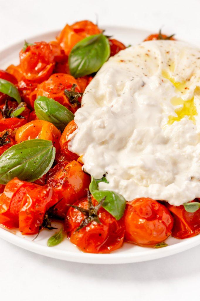 burrata tomatoes