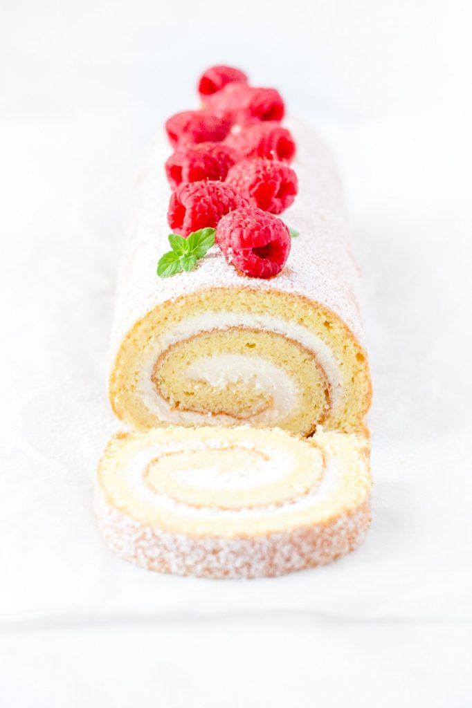 vanilla swiss roll recipe
