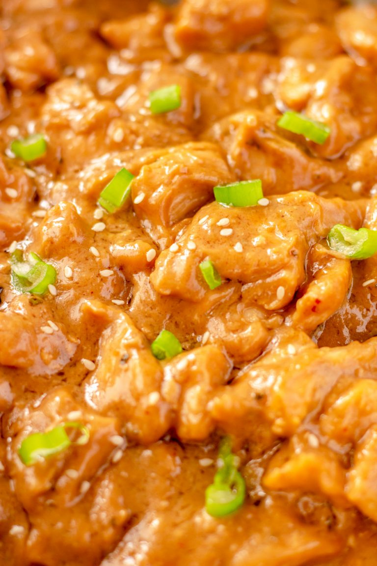peanut butter chicken recipe