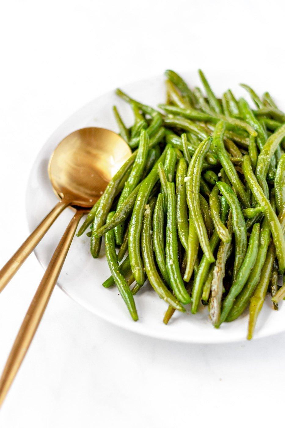 buttery green beans recipe